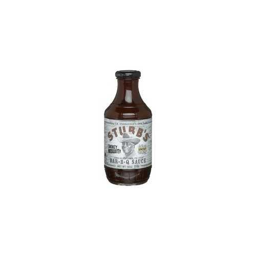 Stubbs Smokey Mesquite BBQ Sauce (6x18Oz)