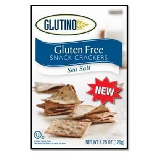 Glutino Sea Salt Crackers (6x4.25 Oz)