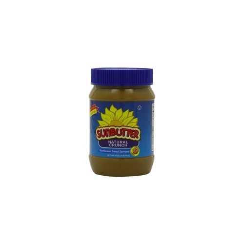 Sunbutter Natural Crunch Sunflower Seed Spread (6x16Oz)