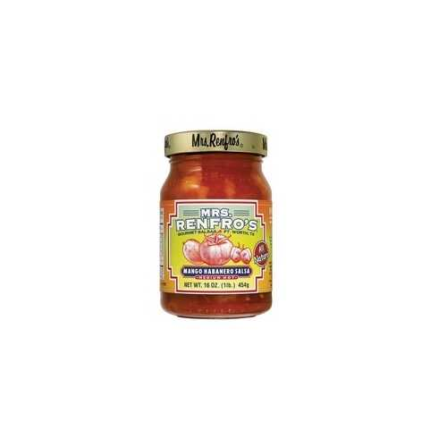 Mrs. Renfro's Mango Habanero Medium Hot Salsa (6x16Oz)