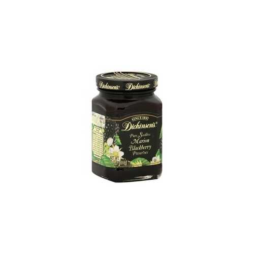 Dickinson Pure Seedless Marion Blackberry Preserves (6x10Oz)