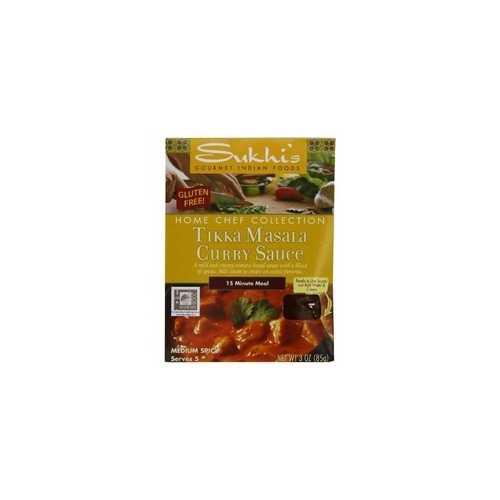 Sukhi's Gluten-Free Tikka Masala Sauce (6x3Oz)