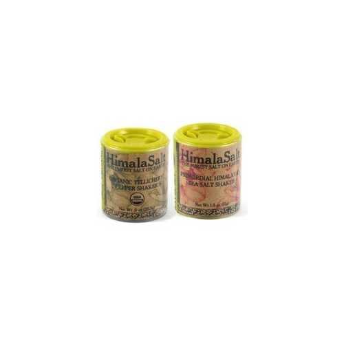 HimalaSalt Pure Himalayan Salt & Pepper Travel Shaker Set (12x1 EA)