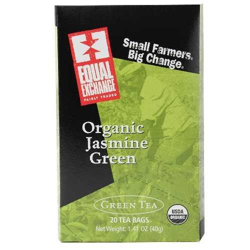 Equal Exchange Organic Jasmine Green Tea (6x20 Bag)
