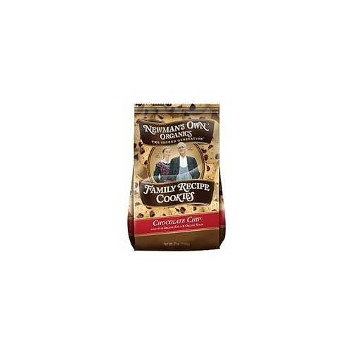 Newman's Own Organics Chocolate Chip Family Recipe Cookies (6x7Oz)