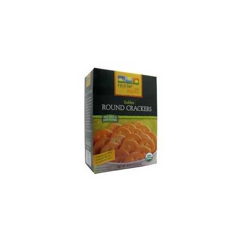 Field Day Organic Golden Round Crackers (12x8Oz)