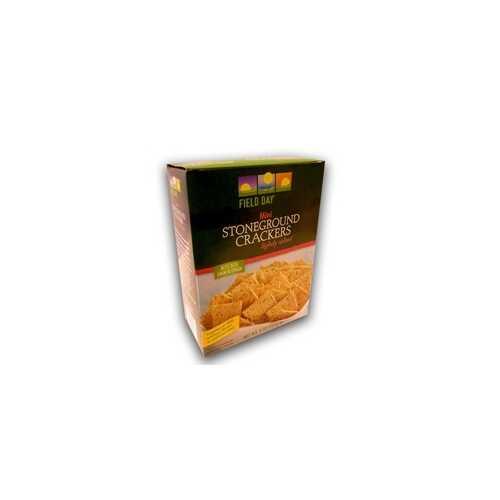 Field Day Stoneground Wheat Crackers (10x8Oz)