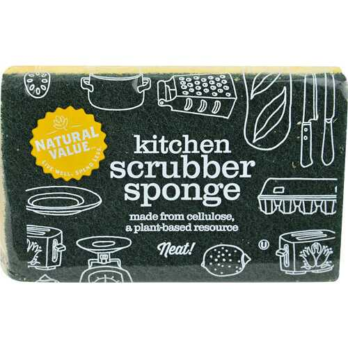 Natural Value Kitchen Scrubber Sponge (24x1CNT )