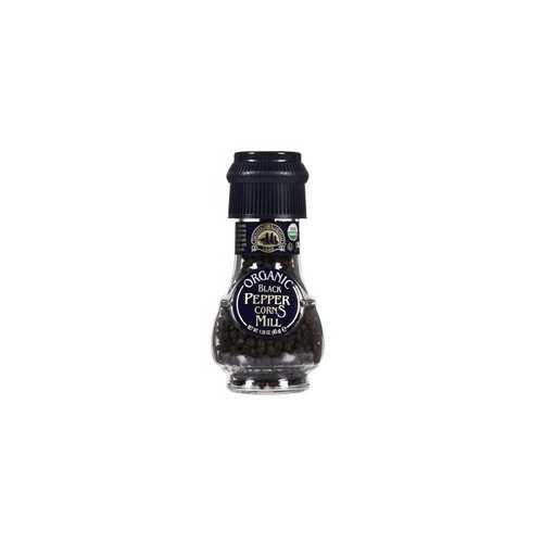 Drogheria & Alimentari All Natural Spice Grinder Black Peppercorns (6x1.6Oz)