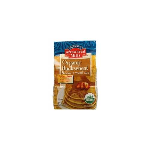 Arrowhead Pancake And Waffle Mix, Buckwheat (6x26Oz)