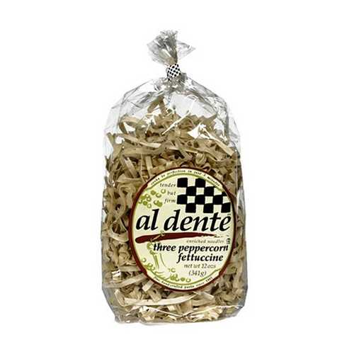Al Dente Three Peppercorn Fettuccine (6x12Oz)