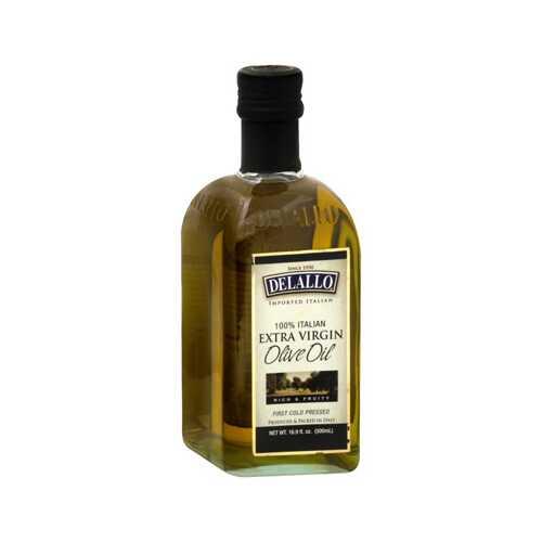 De Lallo Extra Virgin Olive Oil (12x16.9 Oz)