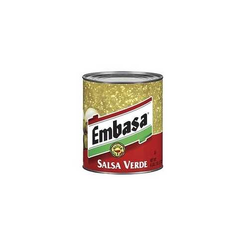 Embasa Salsa MexicanaGreen Medium (12x7Oz)