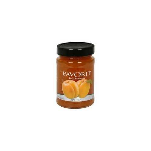Favorit Preserves, Apricot (6x12.3Oz)