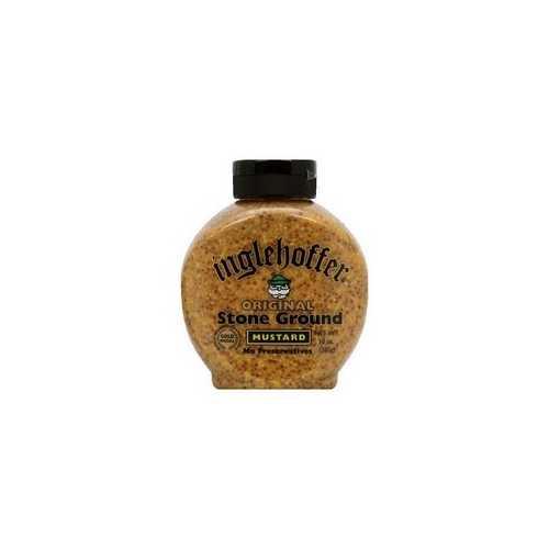 Inglehoffer Stone Ground Mustard (6x10Oz)