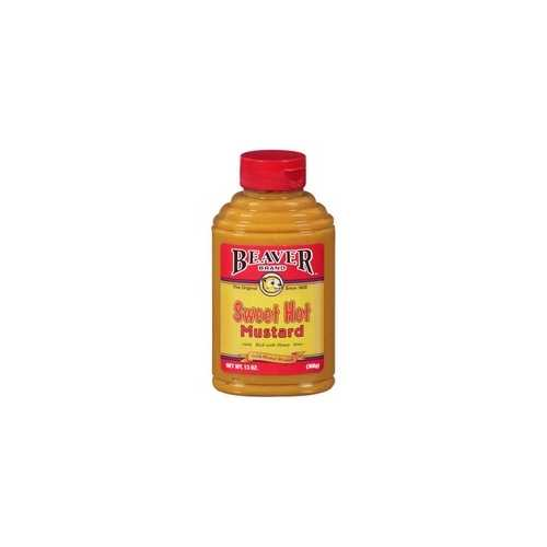 Beaver Sweet Hot Mustard (6x13Oz)