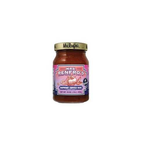 Mrs. Renfro's Salsa Raspberry Chipotle (6x16Oz)