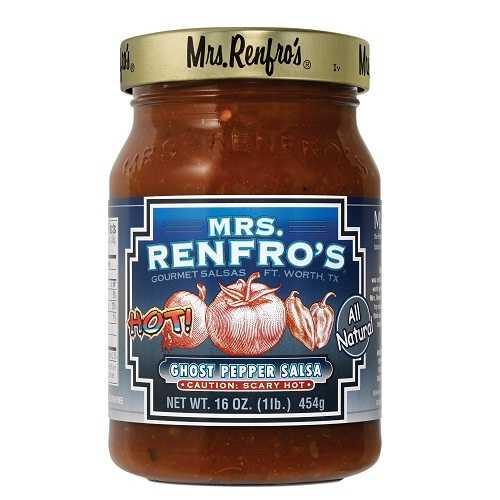 Mrs. Renfro's Ghost Pepper Salsa (6x16Oz)