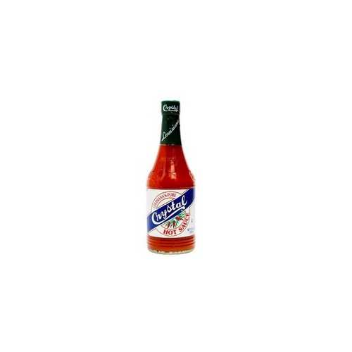 Crystal Louisiana's Pure Hot Sauce (24x6Oz)
