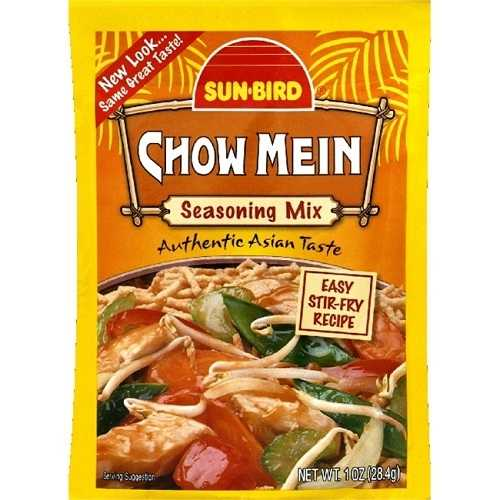 Sunbird Chow Mein Seasoning Mix (24x1 Oz)