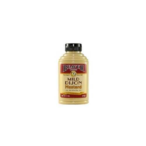 Beaver Mild Dijon Mustard (6x11Oz)