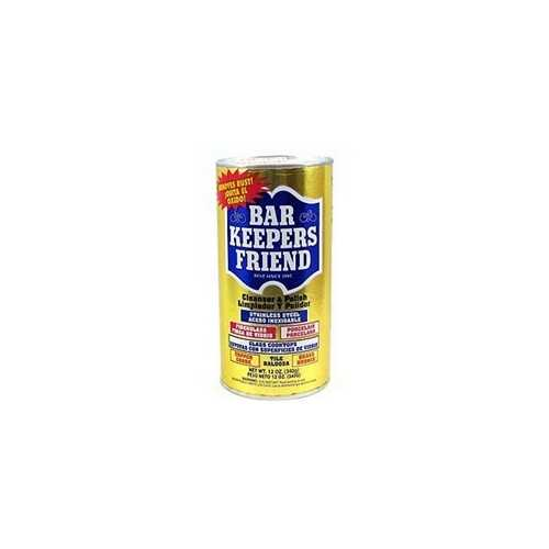 Bar Keepersn Friend Cleanser & Polish With Mild Abrasives (12x12Oz)