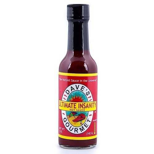 Dave's Gourmet Insanity Sauce (12x5 Oz)