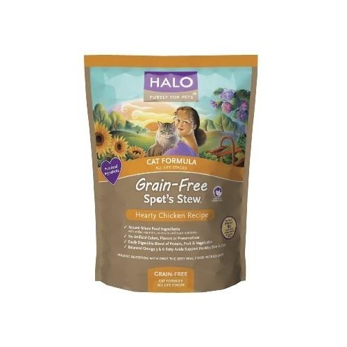 Halo Spots Stew Cat Chicken (6x3Lb)