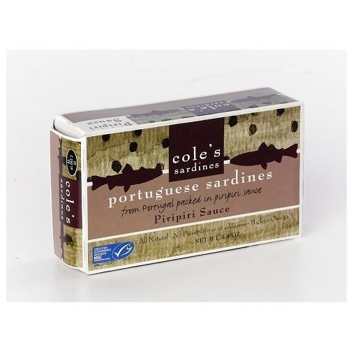Coles Sardines Piripiri (10x4.4Oz)
