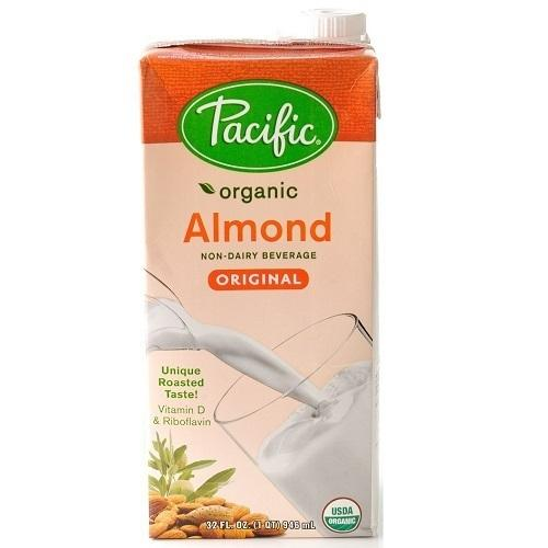 Pacific Natural Foods Non Dary Beverage Almond Original (12x32Oz)