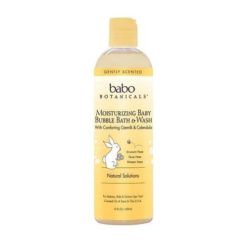 Babo Botanicals Bbath Wash Oatmilk (1x15Oz)