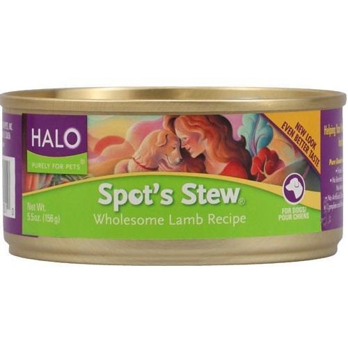 Halo Lamb Wet Dog Food (12x5.5Oz)