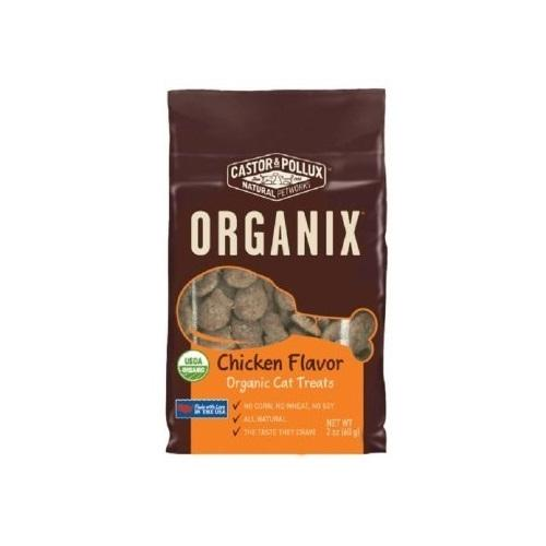 Castor & Pollux Organix Cat Treat Chicken (12x2Oz)