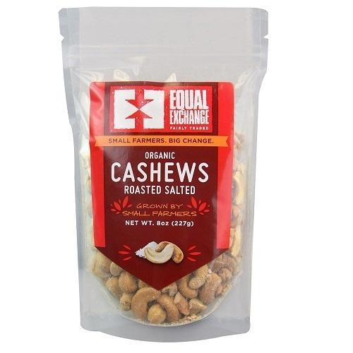 Equal Exchange Og2 Roast Salted Cashews (6x8Oz)