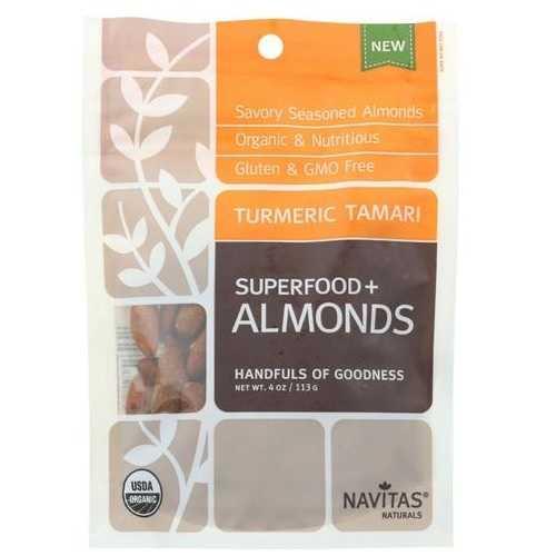 Navitas Naturals Superfood Plus Cacao Hemp Almonds  (12x4 OZ)