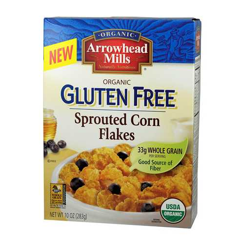 Arrowhead Mills Sprouted Corn Flakes  (6x10 OZ)