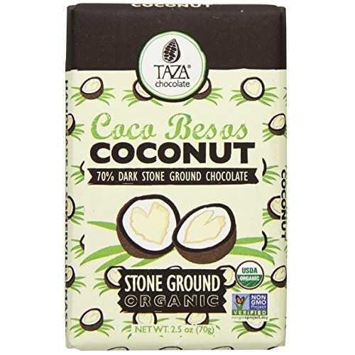 Taza Chocolate Coconut Besos (10x2.5 OZ)