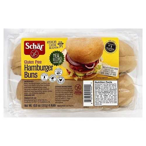 Schar  Hamburger Buns (6X10.6 OZ)