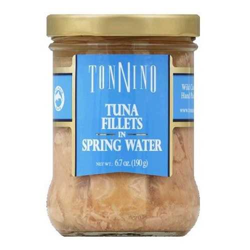 Tonnino Tuna Fillets In Spring Water (6x6.7 OZ)