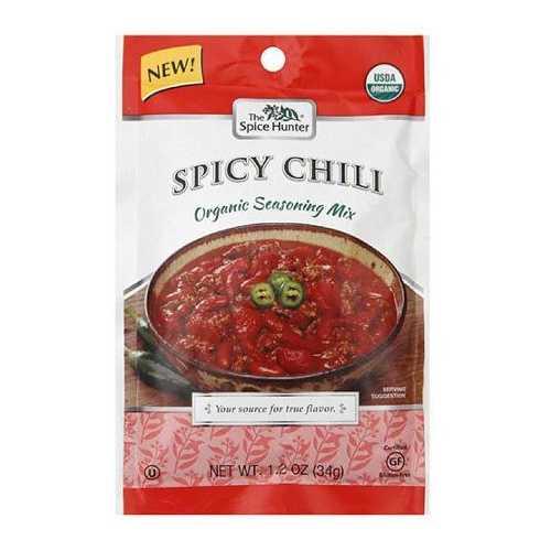 The Spice Hunter Organic Chili Mix Spicy (12x1.2 OZ)