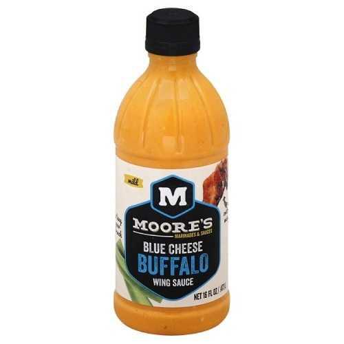 Moore's Blue Cheese Buffalo Wing Sauce (6x16 OZ)