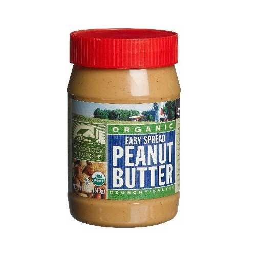 Woodstock Crunchy PButter (12x18OZ )