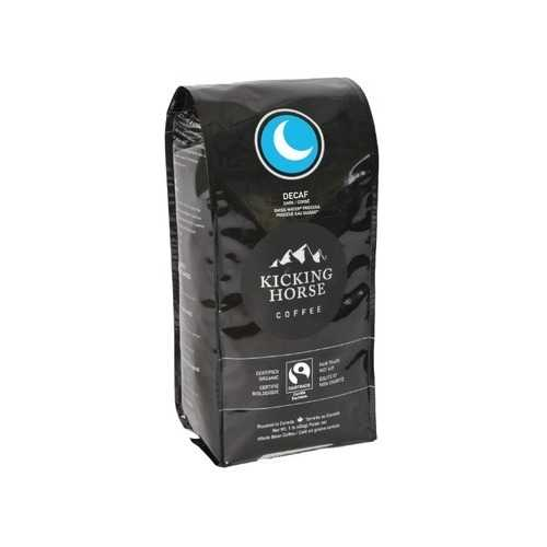 Kicking Horse Coffee Dark Decaf Swiss Water Process Whole Bean (6x10 OZ)
