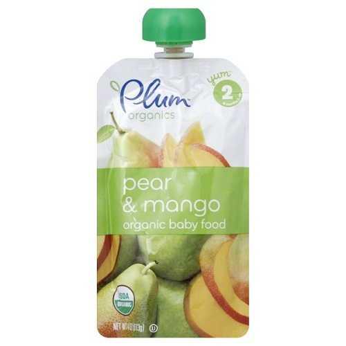 Plum Organics  Plum Pear/Mango (6X4 OZ)