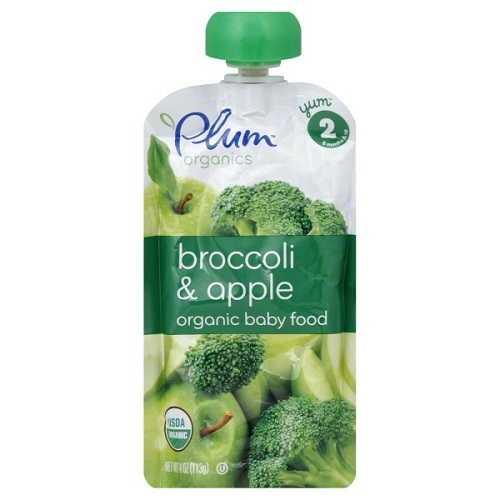 Plum Organics  Plum Broccoli/Apple (6X4 OZ)