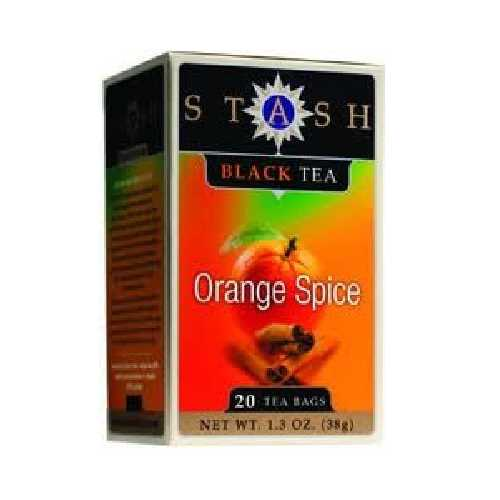 Stash Tea Orange Spc Black Tea (6x20BAG )