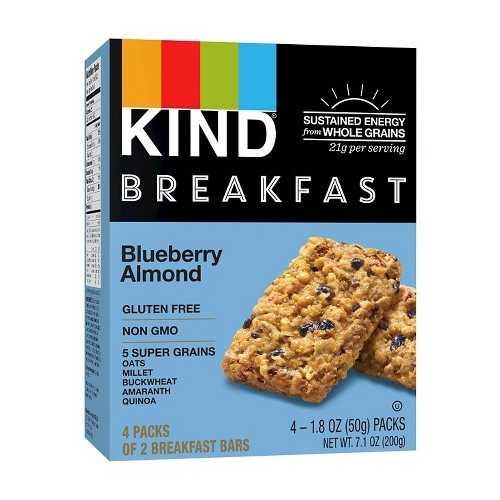 Kind Breakfast Bar Blueberry Almond  (8x4 PACK)