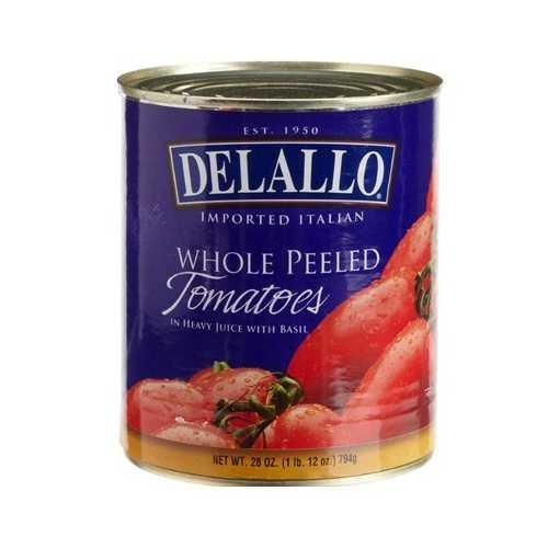 De Lallo Italian Peeled Tom (12x28OZ )