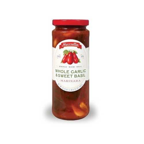 Mezzetta Marinara Whole Garlic & Sweet Basil Sauce (6x16.25 OZ)