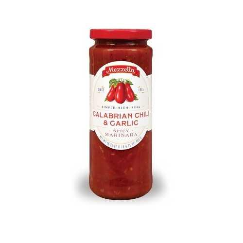 Mezzetta Marinara Calabrian Chili & Garlic Sauce (6x16.25 OZ)